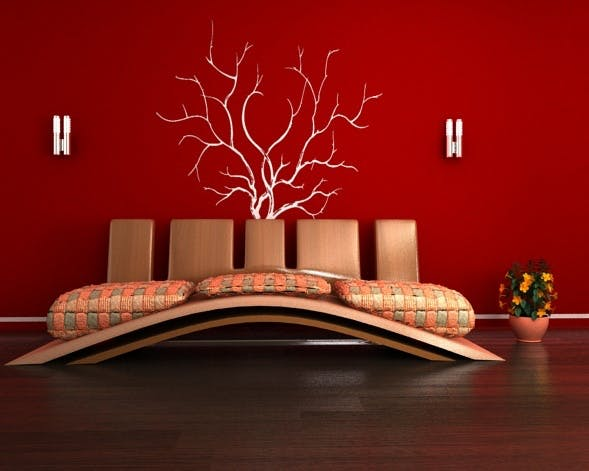 Modern sofa with textures  - 3DOcean Item for Sale