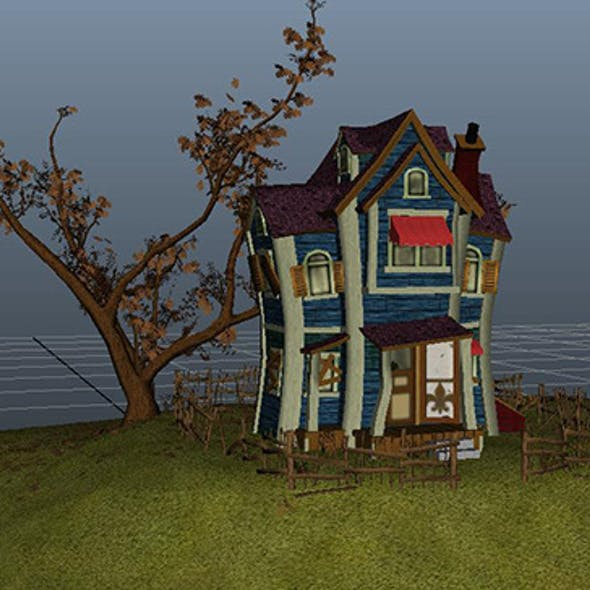 Game Rez Caricature Ghost House