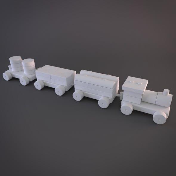 Modular Hy-rez Toy Train