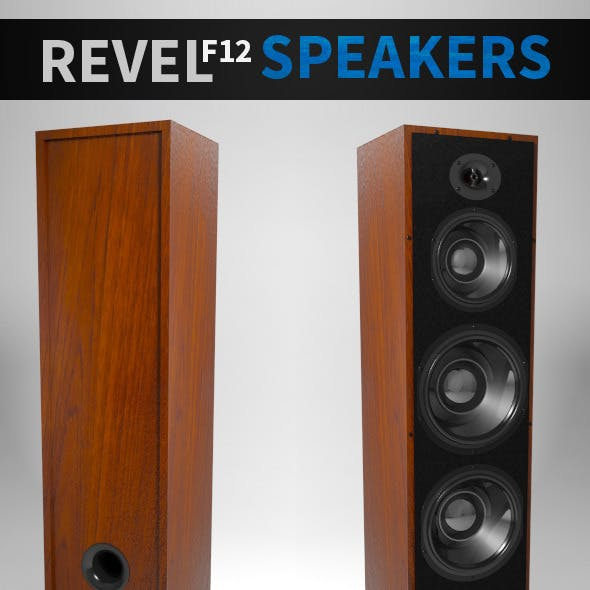 Revel F12 Speakers