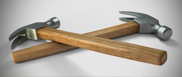 Detailed Hammer - 3DOcean Item for Sale