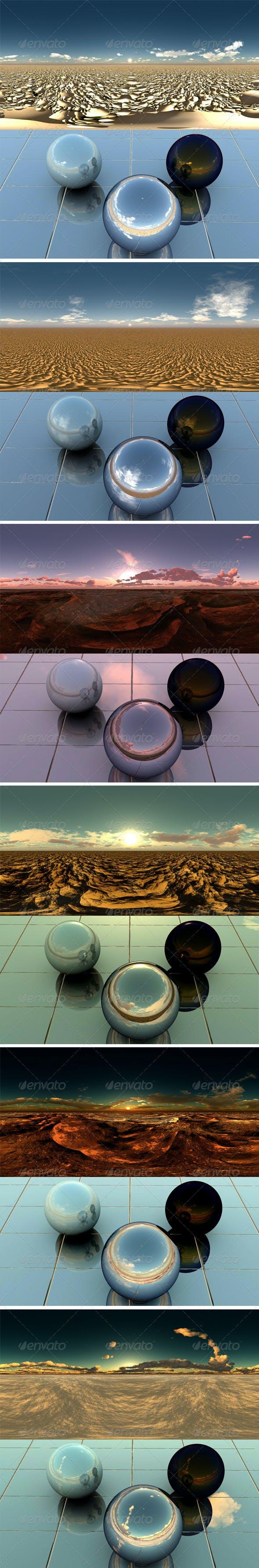 Pack - Desert 2 - 3DOcean Item for Sale