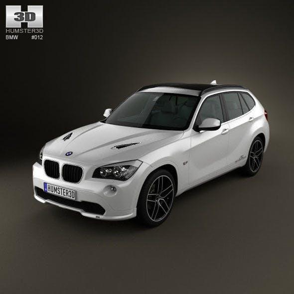 BMW X1 2010 AC Schnitzer  - 3DOcean Item for Sale