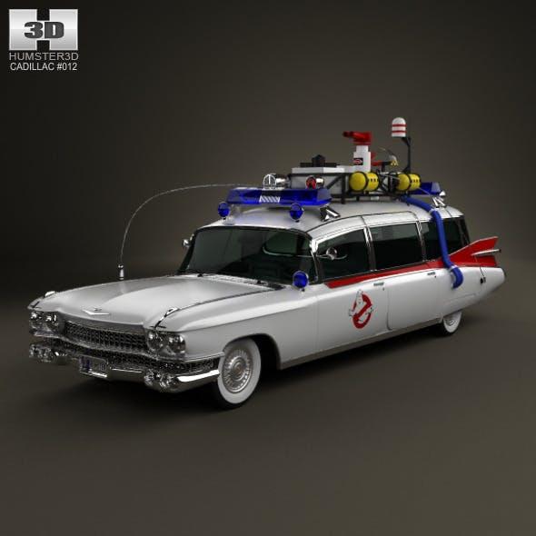 Cadillac Miller-Meteor Ghostbusters Ectomobile