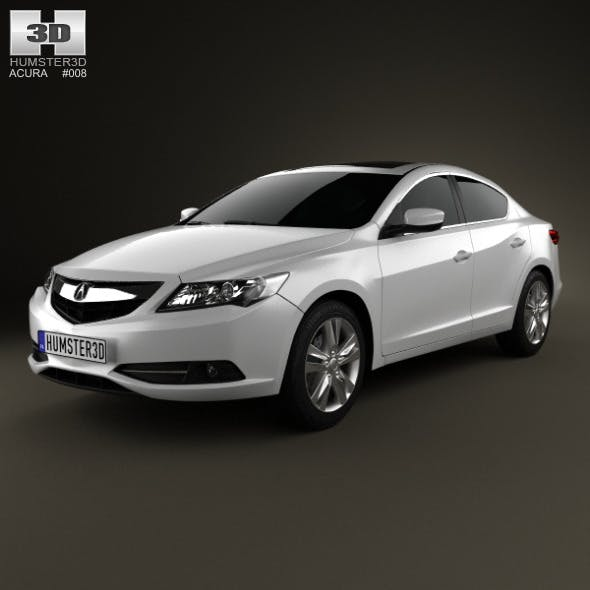 Acura ILX 2013 - 3DOcean Item for Sale