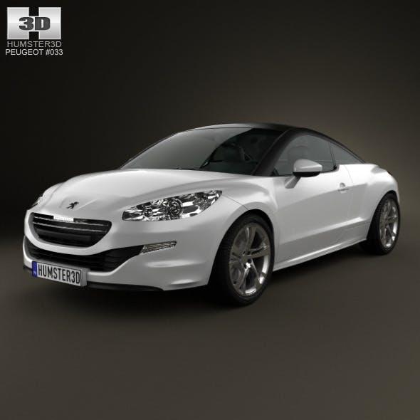Peugeot RCZ coupe 2013 - 3DOcean Item for Sale