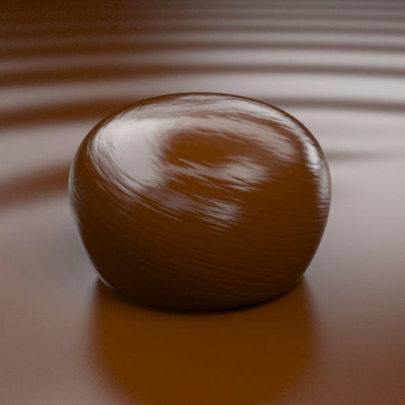 Bonbon of Chocolate (1) - 3DOcean Item for Sale