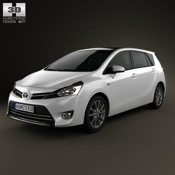 Toyota Verso (E'Z) 2013 - 3DOcean Item for Sale
