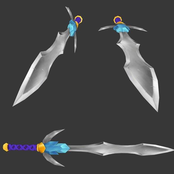 Cartoony Lowpoly Sword