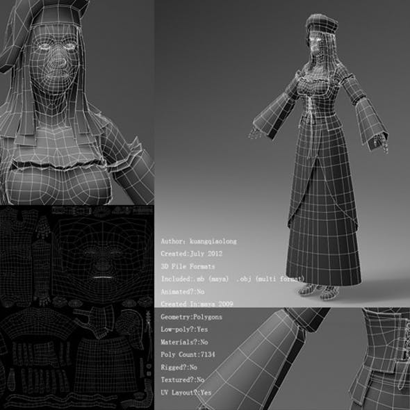 Medieval European clothing 02