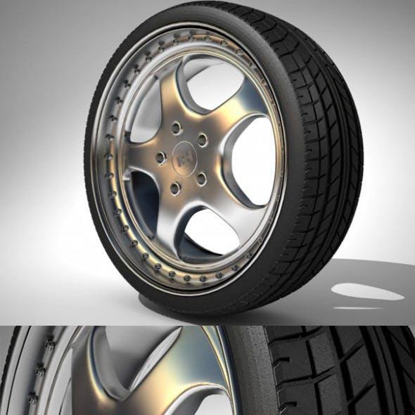 RH Wheel Porsche