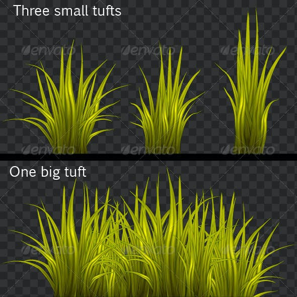 HQ Pack of Painted Grass Textures
