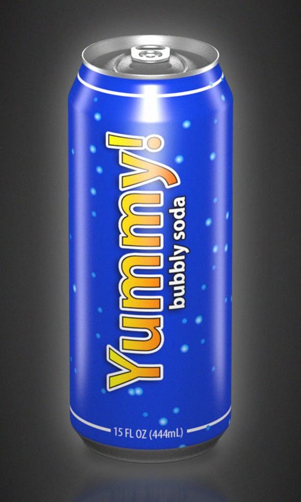 Aluminum Can (15oz) - 3DOcean Item for Sale