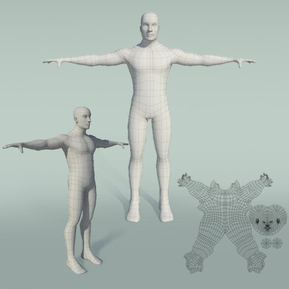 Generic_Male_Body - 3DOcean Item for Sale