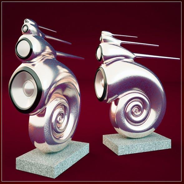 B&W Nautilus - 3DOcean Item for Sale
