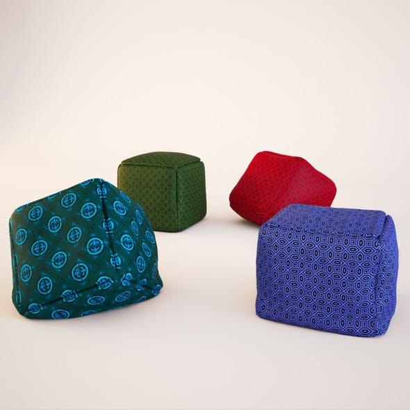 Pouf - 3DOcean Item for Sale