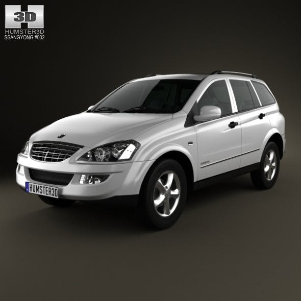 SsangYong Kyron 2011 - 3DOcean Item for Sale
