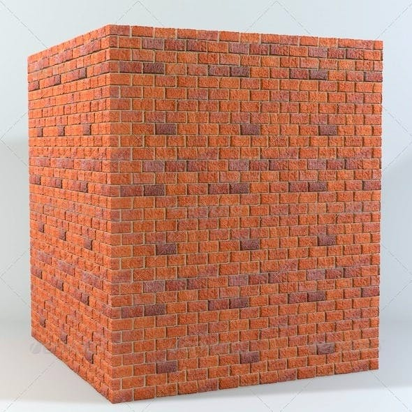 Seamless Tileable Brick Wall Texture - 3DOcean Item for Sale