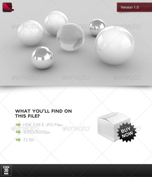 HDRi Studio Light 1 - 3DOcean Item for Sale