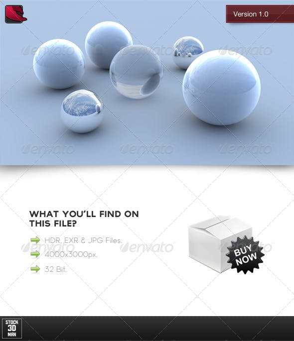 HDRi Sky Light 1 - 3DOcean Item for Sale