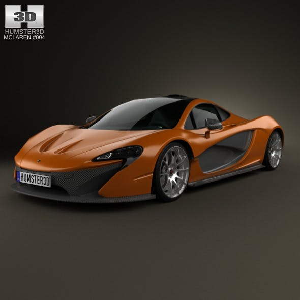 McLaren P1 2013 - 3DOcean Item for Sale
