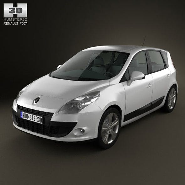 Renault Scenic 2010  - 3DOcean Item for Sale