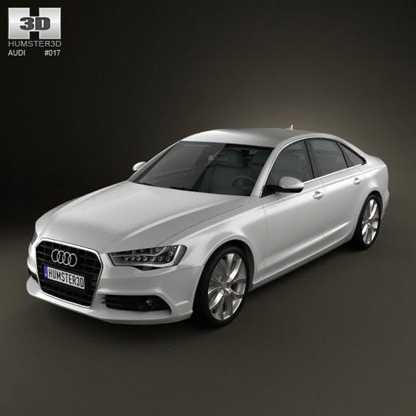 Audi A6 sedan 2012