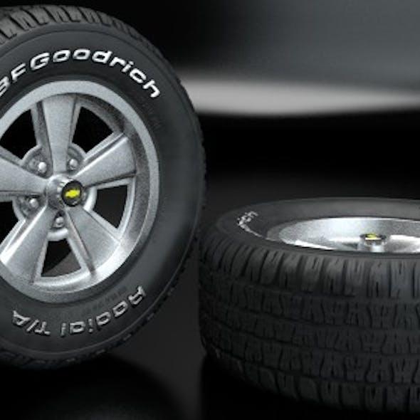Bfgoodrich Radial T/A Wheel