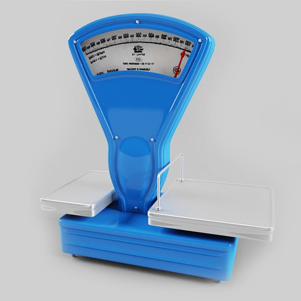 Weighing-machine - 3DOcean Item for Sale