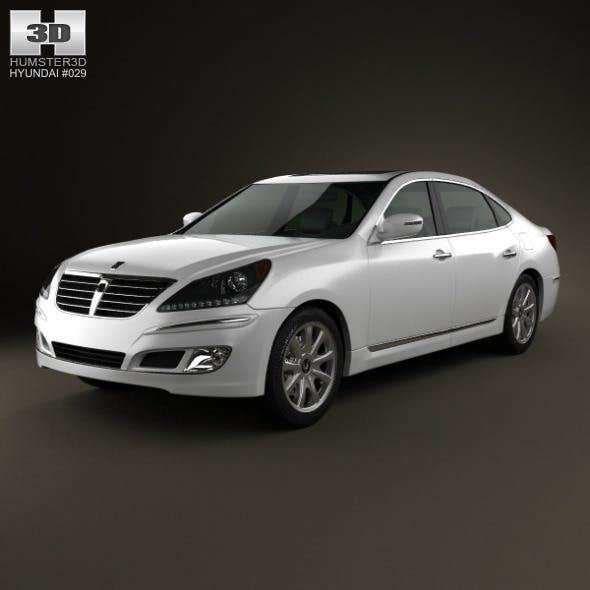 Hyundai Equus (Centennial) 2012 - 3DOcean Item for Sale