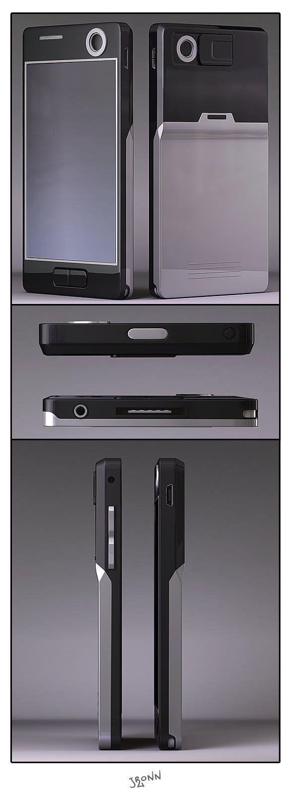 Cellphone Generic 01 - 3DOcean Item for Sale
