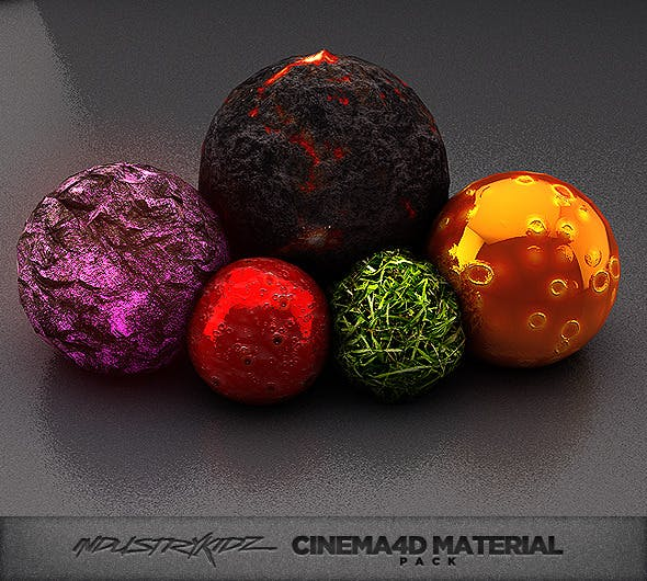 Cinema 4d Material pack - 3DOcean Item for Sale