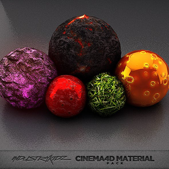 Cinema4d Material Pack CG Textures & 3D Models from 3DOcean