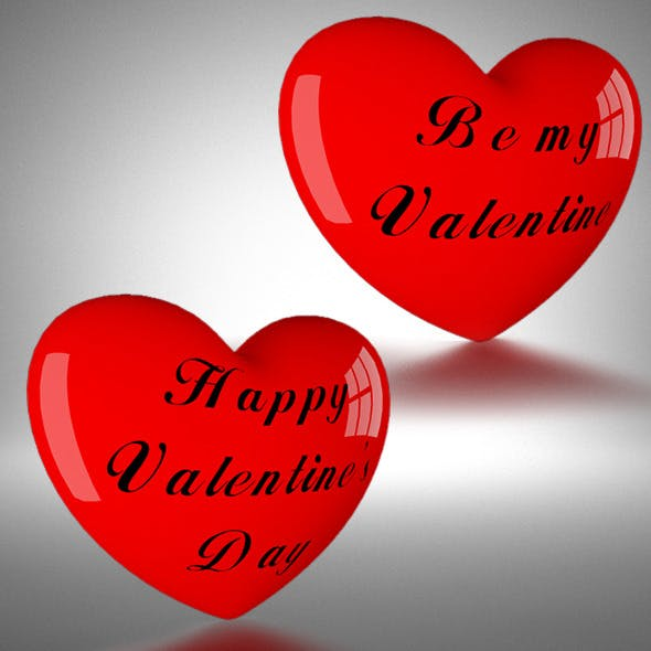 Happy Valentine's Day - 3DOcean Item for Sale