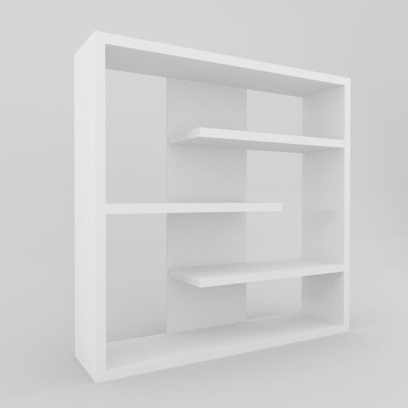 Modern Bookcase - 3DOcean Item for Sale