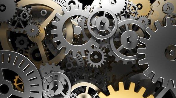 Clock Wheels - 3DOcean Item for Sale