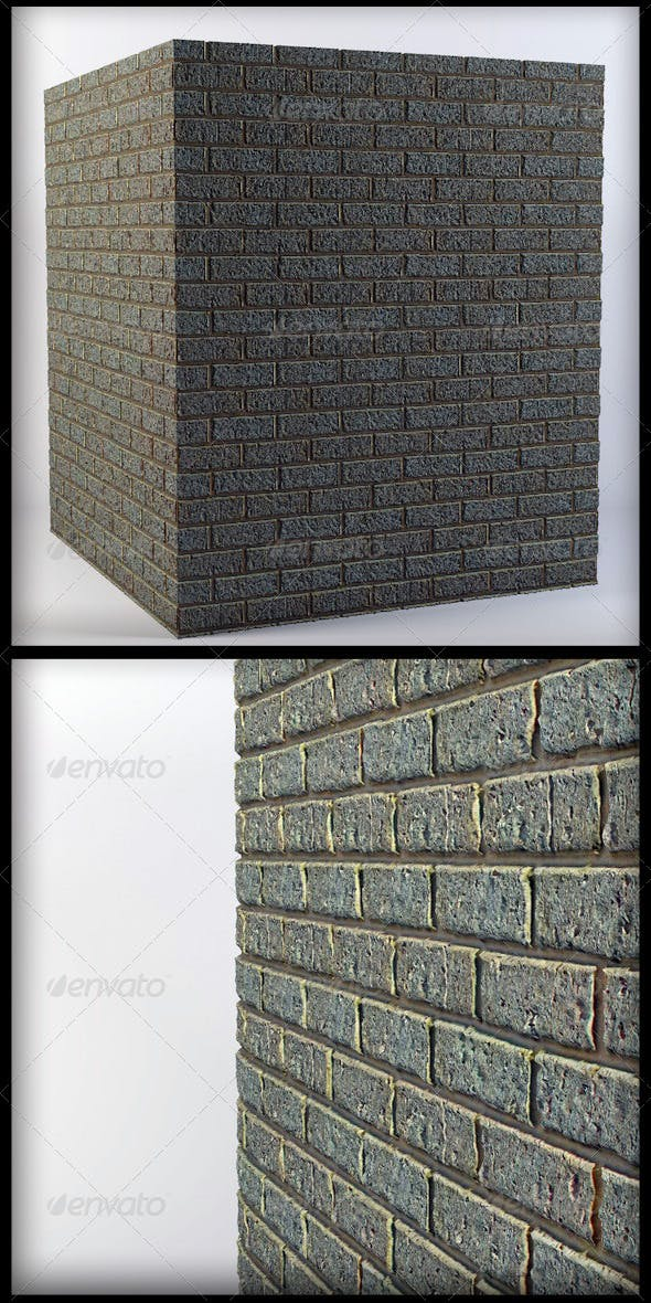 High Rez Tileable Stone Wall Texture - 3DOcean Item for Sale