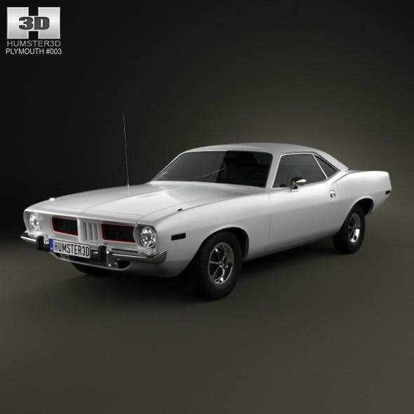 Plymouth Barracuda hardtop 1974