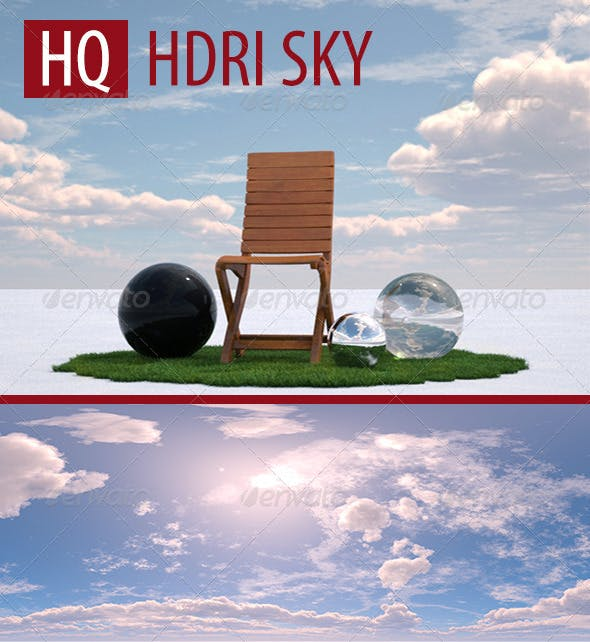 Cloudy Sunny Day HDRI - 3DOcean Item for Sale
