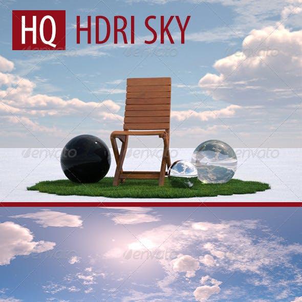 Cloudy Sunny Day HDRI