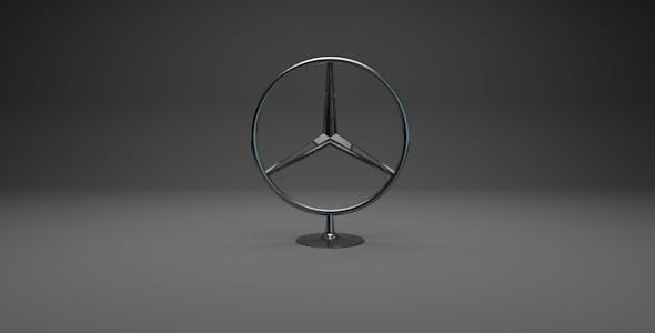 Mercedes/Mercedes-Benz Badge - 3DOcean Item for Sale
