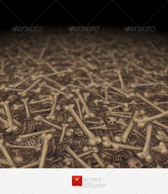 Bone Texture Tile 02 - 3DOcean Item for Sale