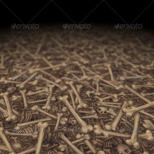 Bone Texture Tile 02