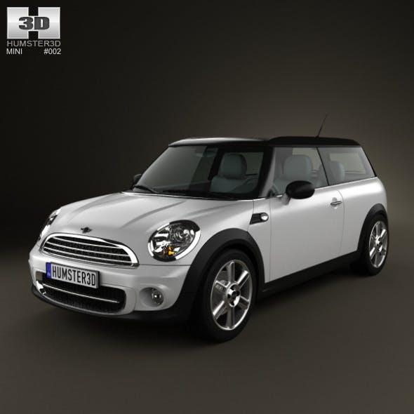 Mini Cooper clubman 2011 - 3DOcean Item for Sale