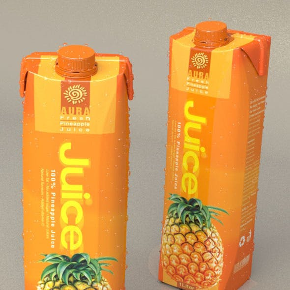 1 Liter Carton Packaging