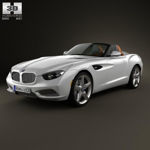 BMW Zagato Roadster 2012 - 3DOcean Item for Sale