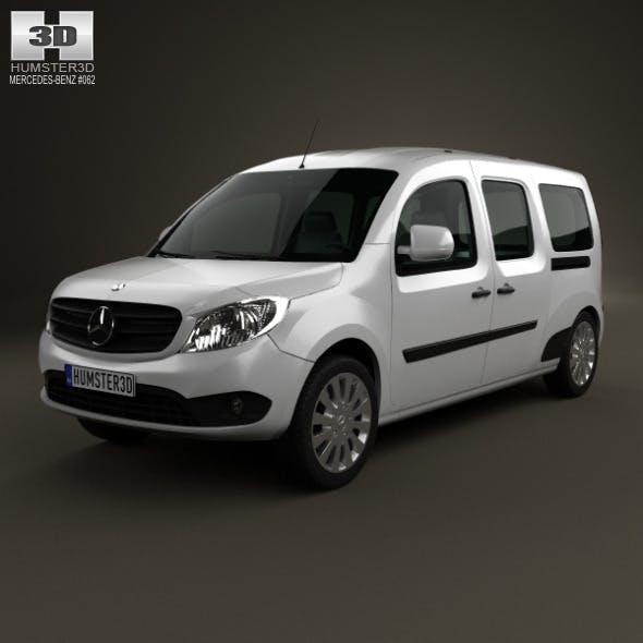Mercedes-Benz Citan Crew Bus 2012 - 3DOcean Item for Sale