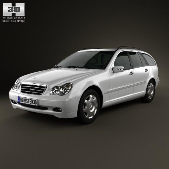 Mercedes-Benz C-Class (W203) estate 2005 - 3DOcean Item for Sale