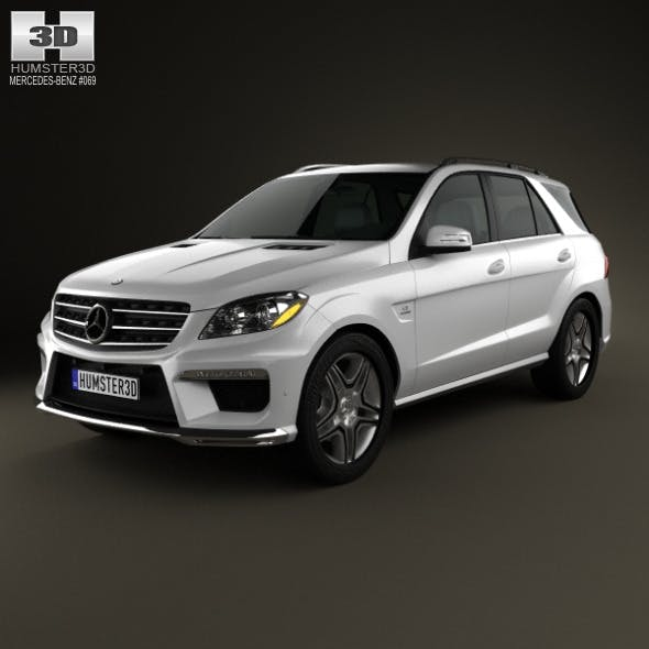 Mercedes-Benz ML-class AMG (W166) 2012 - 3DOcean Item for Sale
