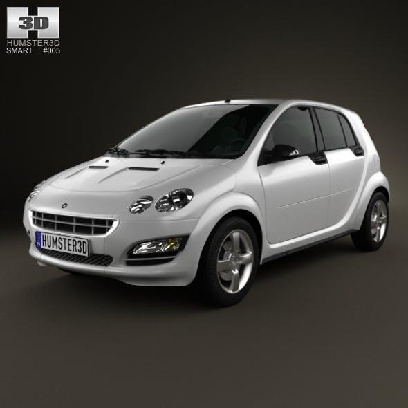 Smart Forfour 2006  - 3DOcean Item for Sale